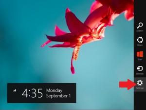 Windows 8.1 Charmbar